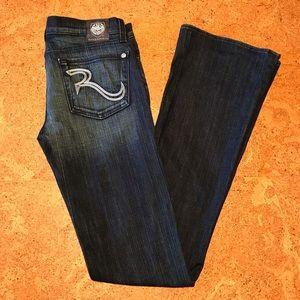 Rock & Republic Kasandra boot cut jean - size 27